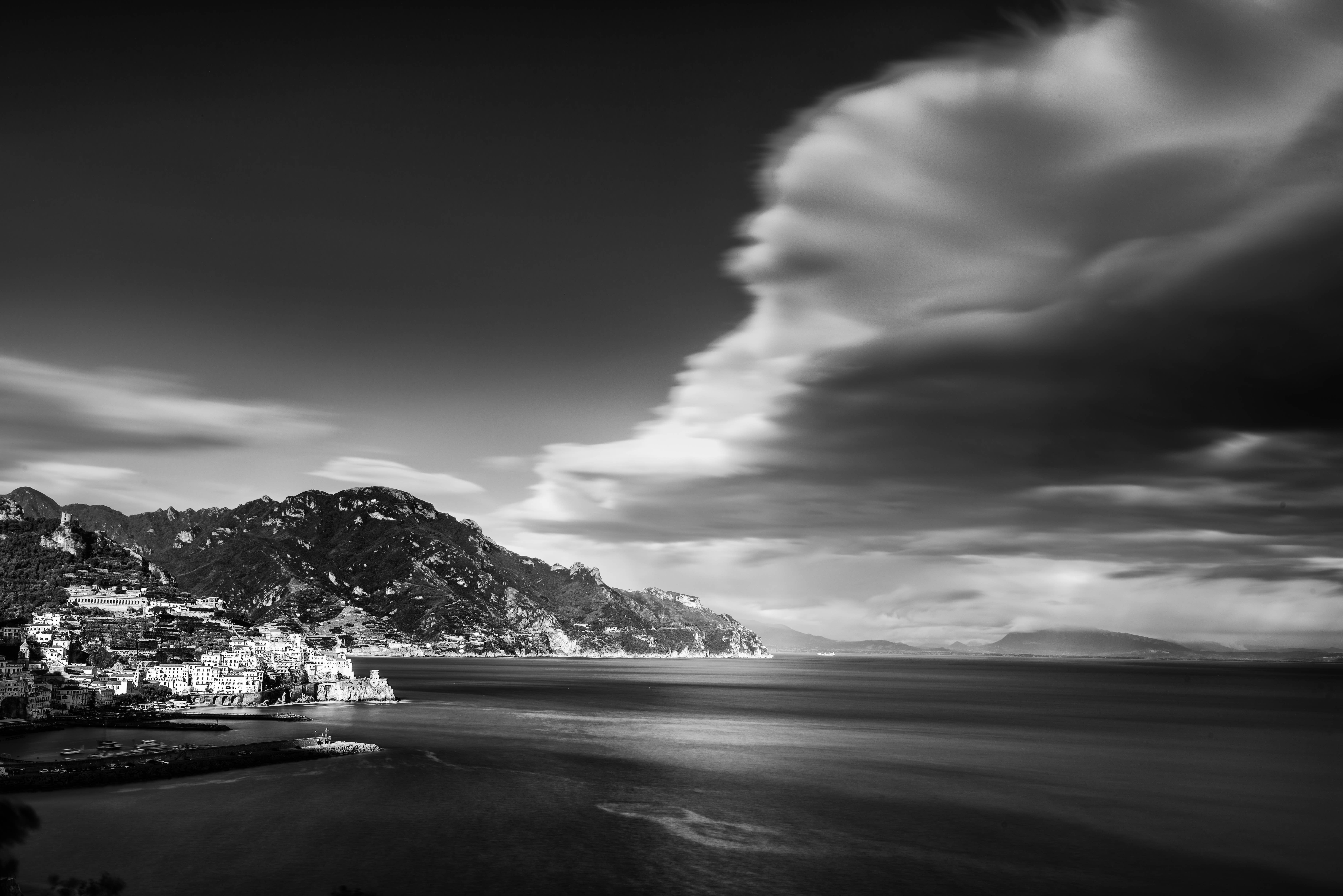 amalfi, Black and White, Clouds, costiera amalfitana, Estate, Festa, Mare, Positano, Reportage, Sea, travel, viaggi