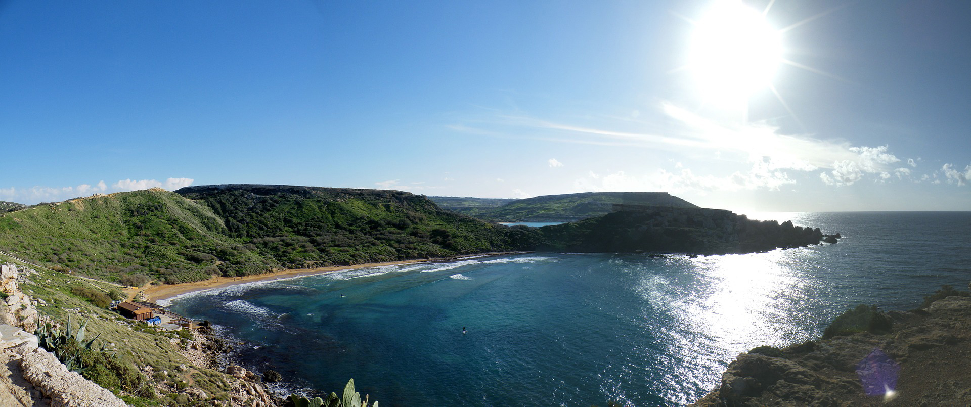 Le spiagge più belle di Malta, Gozo e Comino - Ghajn Tuffieha