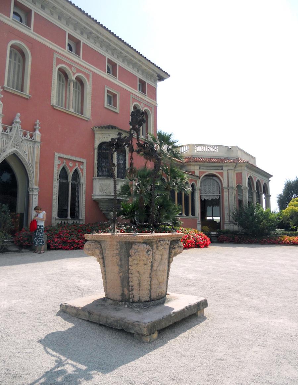 L'ingresso di Villa Ephrussi