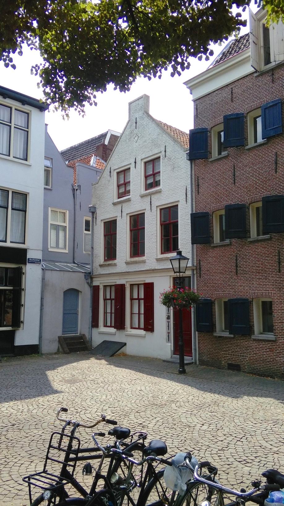 piazzetta nel centro di Utrecht