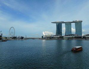 Marina Bay a Singapore