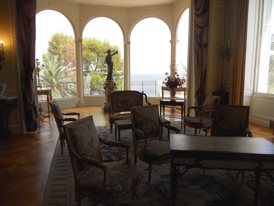 La sala di Villa Ephrussi