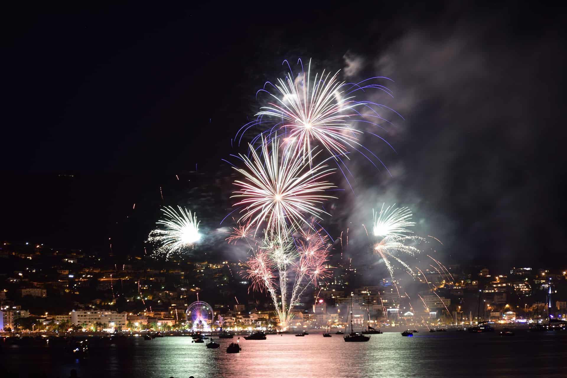 Fuochi d'artificio a Napoli